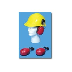 Mutual Industries Construction Hard Hat / Helmet Mounted Ear Muffs