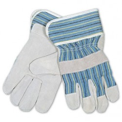 Mutual Industries 50071 Heavy Duty Leather Palm Work Gloves