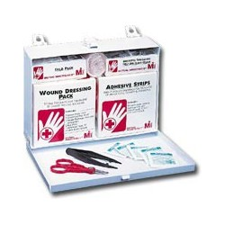 Mutual Industries 25 Person Metal First Aid Kit