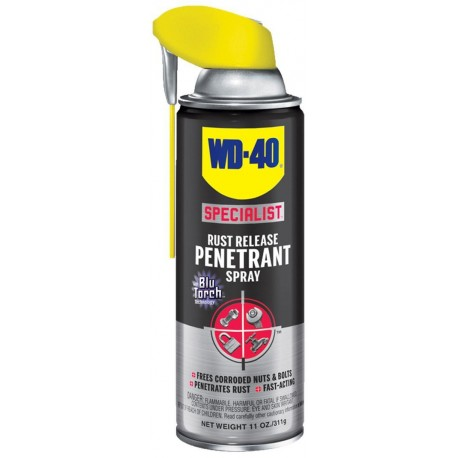 WD-40 300004 Specialist Rust Release Penetrant Spray 11 Oz