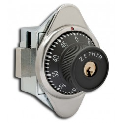 Zephyr Lock 1930/1931 Built in Combination Lock w/ Vertical Dead Bolt