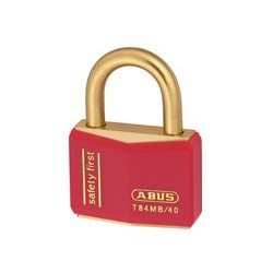 T84MB/40 Abus Black Gold Solid Brass Padlock