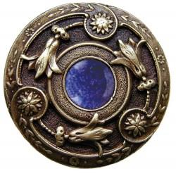 Notting Hill NHK-161 Jeweled Lily Knob 1-1/4 diameter