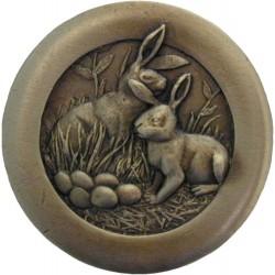 Notting Hill NHK-166 Rabbits Knob 1-3/8 diameter