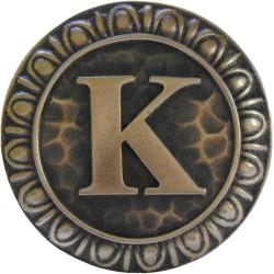 Notting Hill NHK-190 Initial K Knob 1-3/8 diameter
