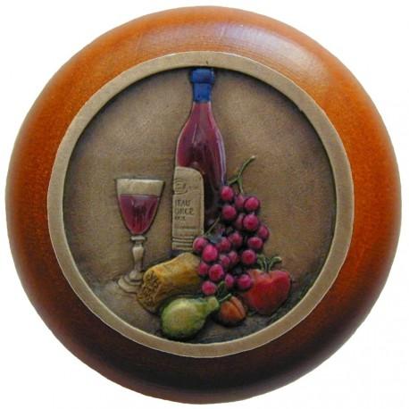 Notting Hill NHW-740 Best Cellar (Wine) Wood Knob 1-1/2 diameter