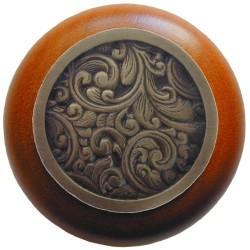 Notting Hill NHW-759 Saddleworth Wood Knob 1-1/2 diameter