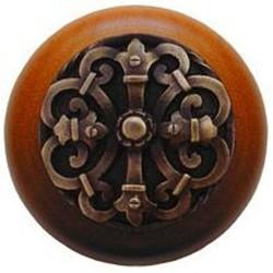 Notting Hill NHW-776 Chateau Wood Knob 1-1/2 diameter