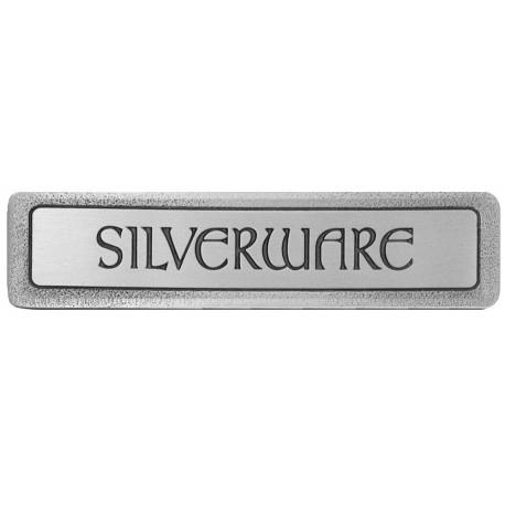 Notting Hill NHP-301 Engraved SILVERWARE (Horizontal) Pull 4 x 7/8