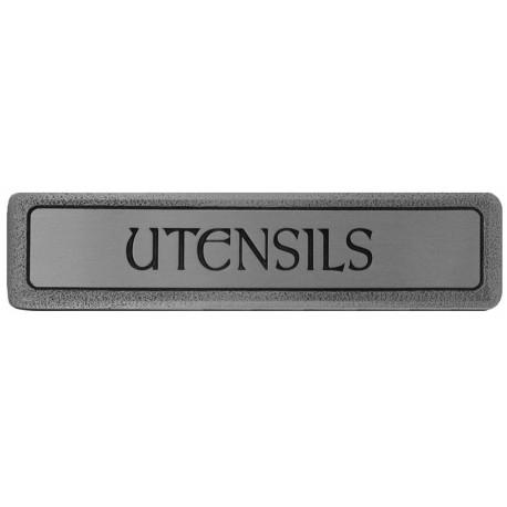 Notting Hill NHP-303 Engraved UTENSILS (Horizontal) Pull 4 x 7/8