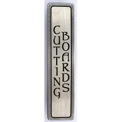 Notting Hill NHP-352 Engraved CUTTING BOARDS (Vertical - 2 lines) Pull 4 x 7/8