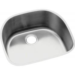 Elkay ELUH2118 Harmony (Lustertone) Stainless Steel Single Bowl Undermount Sink