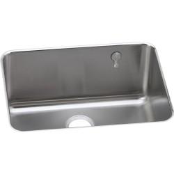 Elkay ELUH231710EK Gourmet (Lustertone) Stainless Steel Single Bowl Undermount Sink Kit