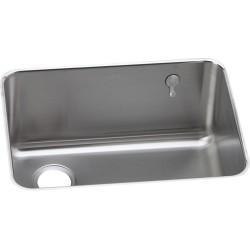 Elkay ELUH231710LEK Gourmet (Lustertone) Stainless Steel Single Bowl Undermount Sink Kit