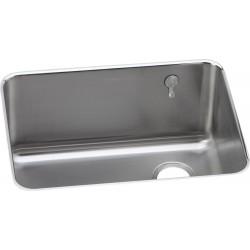 Elkay ELUH231712REK Gourmet (Lustertone) Stainless Steel Single Bowl Undermount Sink Kit