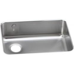 Elkay ELUH2317LEK Gourmet (Lustertone) Stainless Steel Single Bowl Undermount Sink Kit