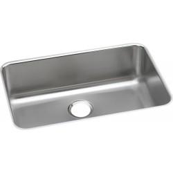 Elkay ELUH2416 Gourmet (Lustertone) Stainless Steel Single Bowl Undermount Sink