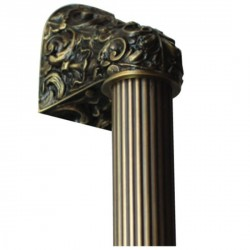 Notting Hill NHO-500 Acanthus Appliance Pull Overall 12