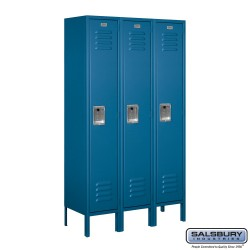 Salsbury Assembled Metal Locker Three Wide