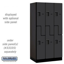 "Salsbury Designer Wood Locker - Double Tier ""S"" Style - 3 Wide"