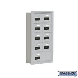"Salsbury 1905509 Cell Phone Lockers Five Door High 5"" Deep Compartments"