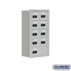 "Salsbury 1905809 Cell Phone Lockers Five Door High 8"" Deep Compartments"