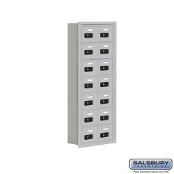 "Salsbury 1907514 Cell Phone Lockers Seven Door High 5"" Deep Compartments"