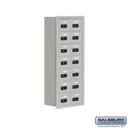 "Salsbury 1907814 Cell Phone Lockers Seven Door High 8"" Deep Compartments"