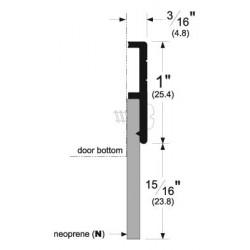 Pemko 321 Door Bottom Sweep