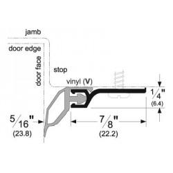 Pemko 330 Standard Perimeter Gasketing with Vinyl Insert